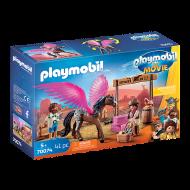 Playmobil PTM Η Μάρλα και ο Ντελ στην Άγρια Δύση (70074)