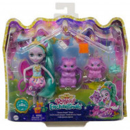 Enchantimals Royals Κούκλα & Οικογένεια Δράκοι (GYJ09)
