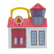 Peppa Pig Σετ Παιχνιδιού Μικρά Μέρη – Πυροσβεστικό και Νοσοκομείο (PPC55210)