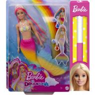 Λαμπάδα Barbie Γοργόνα Μεταμόρφωση Ουράνιο Τόξο (GTF89)