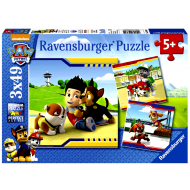 Ravensburger Παζλ 3x49τεμ. Paw Patrol Ήρωες με Γούνα (09369)