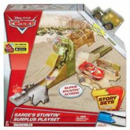 Cars 3- Νέα Σετ Παιχνιδιού Στρατιωτική Ράμπα του Λοχία (DJD90)