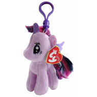 TY Μπρελόκ Λούτρινο με Κλιπ My Little Pony Twilight Sparkle 11cm