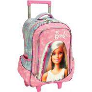 Barbie Think Sweet Σακίδιο Trolley 2021 (349-70074)+Δώρο Κούκλα Barbie