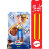 Λαμπάδα Toy Story 4 Φιγούρα 18cm Μιλάει Αγγλικά-4 Σχέδια (GDP80)