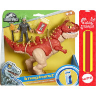 Λαμπάδα Fisher Price Imaginext Jurassic World Δεινόσαυρος Και Φιγούρα - 3 Σχέδια (FMX88)