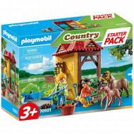 Playmobil Starter Pack Στάβλος Αλόγων 70501