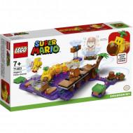 LEGO Super Mario Πίστα Επέκτασης Δηλητηριώδης Βάλτος Του Wiggler 71383