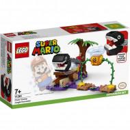 LEGO Super Mario Πίστα Επέκτασης Συνάντηση Με Chain Chomp Στη Ζούγκλα 71381