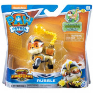 Paw Patrol Mighty Pups Super Paws Κουταβάκια Ήρωες Rubble (054616)
