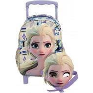 Frozen Elsa Σακίδιο Νηπιαγωγείου Trolley 2021 (341-66072)