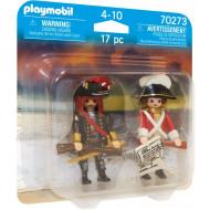 Playmobil Duo Pack Πειρατής Και Λιμενοφύλακας (70273)