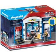 """Playmobil Play Box """"Αστυνομικό Τμήμα"""" (70306)"""