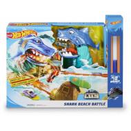 Λαμπάδα Hot Wheels Σετ Παιχνιδιού Μάχη Με Τον Καρχαρία (FNB21)