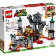 Lego® Super Mario Πίστα Επέκτασης Μάχη Αρχηγού Κάστρου Του Bowser