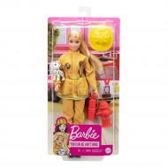 Barbie - Πυροσβέστης Κούκλα GTN83
