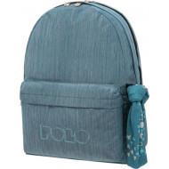Polo Σακίδιο πλάτης Original Double Scarf Jean Γαλάζιο Σκούρο (2021) (9-01-235-5500)