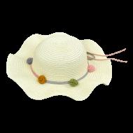 Καπέλο Ψάθινο Παιδικό(4 ΧΡΩΜΑΤΑ)