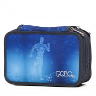 Polo Κασετίνα Τριπλή Rollet Glow Soccer Player 9-37-265-8005