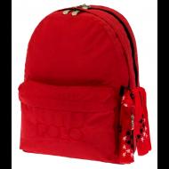 POLO Τσάντα Double Scarf Κόκκινο (9-01-235-03)