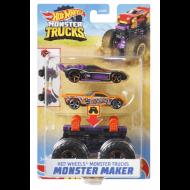 Mattel Hot Wheels Monster Trucks Maker Bone Shaker GWW13