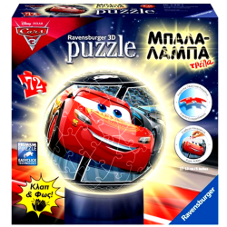 3D Puzzle Μπαλαλάμπα Τρέλα 72 τεμ. Cars 3 (11816)
