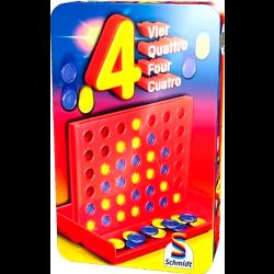 ΕΠΙΤΡΑΠΕΖΙΟ 4 Κλασσικό Παιχνίδι Τέσσερα (300593)