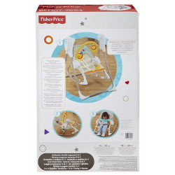 FISHER PRICE Κούνια 3-IN-1 SWING 'N ROCKER (BFH07)