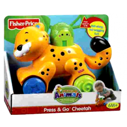 FISHER PRICE ΖΩΑΚΙΑ PRESS 'Ν GO ΤΙΓΡΑΚΙ (N8160)