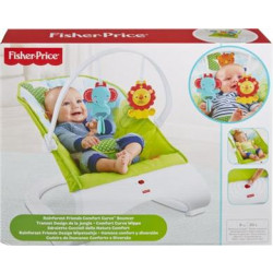 FISHER PRICE ΚΑΘΙΣΜΑΤΑΚΙ ΡΙΛΑΞ RAINFOREST FRIENDS (CJJ79)