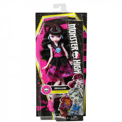 Monster High® First Day of School Draculaura® Doll (DNW98)