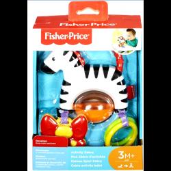 Fisher Price Ζέβρα Δραστηριοτήτων Με Βεντούζα (FGJ11)