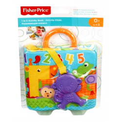 FISHER PRICE ΜΑΛΑΚΟ ΒΙΒΛΙΑΡΑΚΙ ΔΡΑΣΤΗΡΙΟΤΗΤΩΝ (FGJ40)