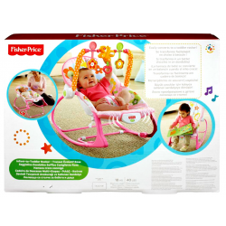 FISHER PRICE ΡΟΖ INFANT TO TODDLER - ΡΙΛΑΞ/ΚΟΥΝΙΑ (Y8184)