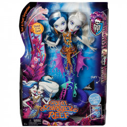 Monster High™ Great Scarrier Reef Peri & Pearl Serpentine™ Doll (DHB47)