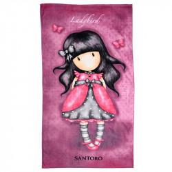 Santoro Gorjuss Πετσέτα Θαλάσσης 75Χ150cm Ladybird (SA91007)