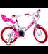 """Ποδήλατο Little Heart 16"""" DinoBike Ροζ"""
