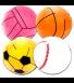Μπάλα Θαλάσσης 41cm (4 Σχέδια) (03L-31004B)
