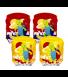 ΜΠΡΑΤΣΑΚΙΑ ΜΕ ΧΕΛΩΝΑ 23Χ15 (2 ΣΧΕΔΙΑ) (03L-32043B)