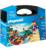 Playmobil PIRATES Βαλιτσάκι Λιμενοφύλακας Με Κανόνι & Πειρατής Σε Βάρκα (9102)